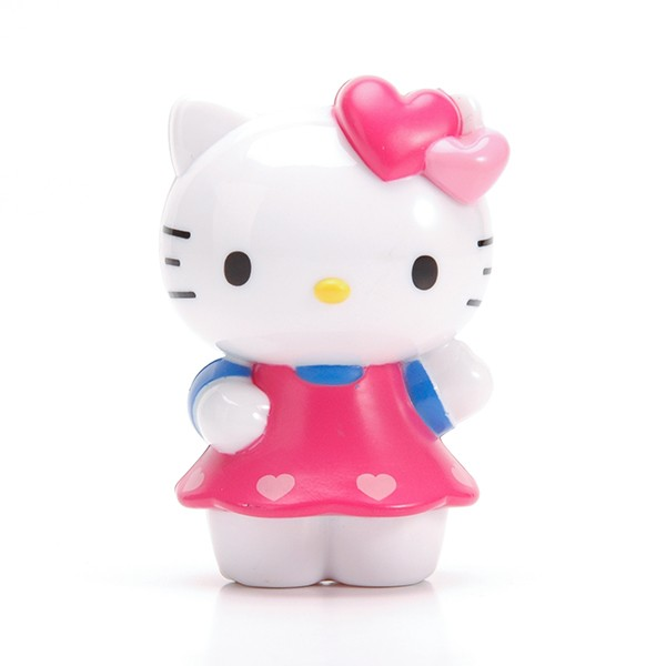 Plastik Hello Kitty Kartun Figurine Figur Kecil Kitty