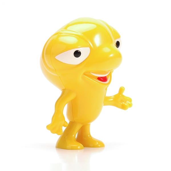 Plastic cartoon figurine