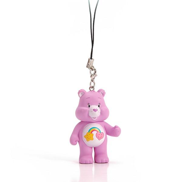 Cheap Mini PVC 3D Teddy Bear Animal Keychain For Promotion