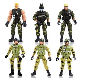 High-quality PVC Plastic Promotion Military Set Toys Action Figure