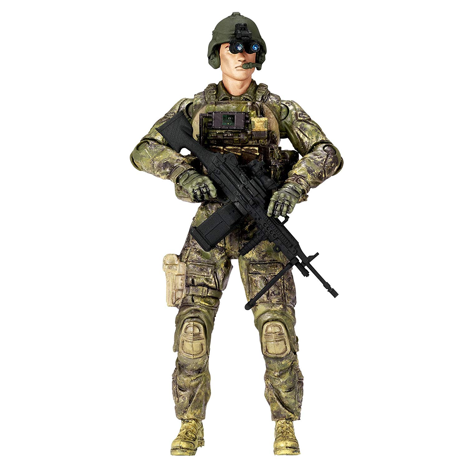PVC soldier action figure