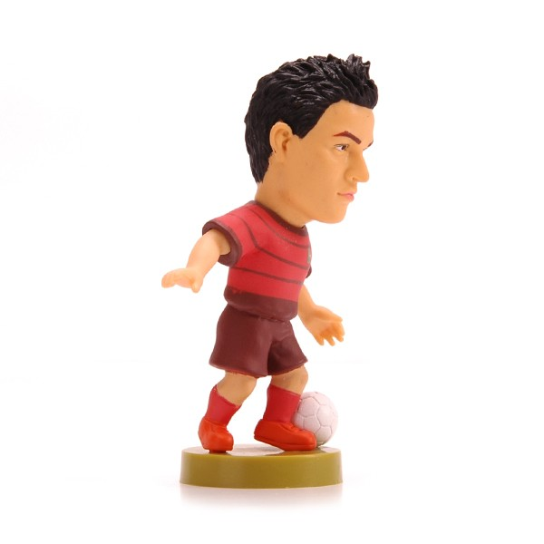 Custom High-quality Plastic 3D Messi Football Action Figure