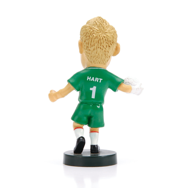 World Cup action figure stands