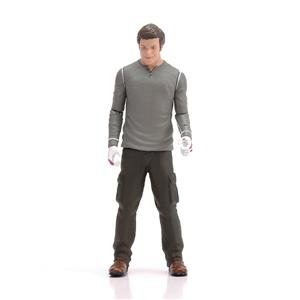 Movie Character Ironman Action Figure Plastic 3d Human Figure