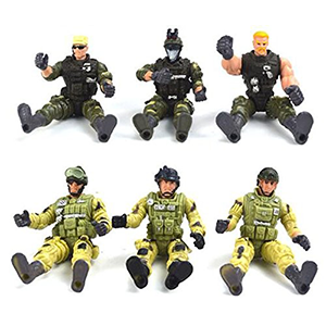 2019 Hot-selling Plastic PVC Soldier Action Figure