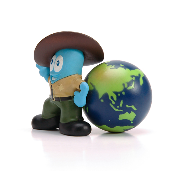cartoon figure pvc action figure for decoration