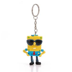 Hot Sale Promotional Plastic Figure Toy Keychain
