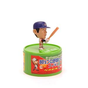 Mini Big Head Plastic Injection Baseball Player Action Figure Football Toys