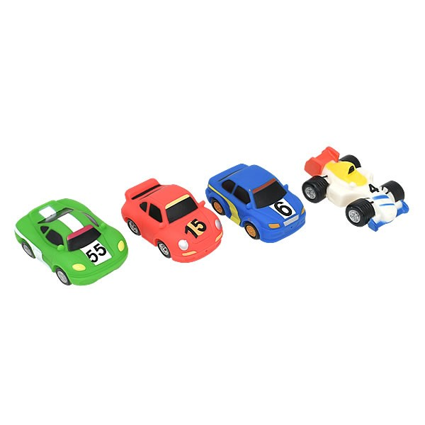 Wholesale Cheap Cute Baby Shower Plastic Small Car Bath Toys