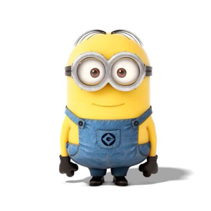 Plastic Cartoon Minion Figure 3D Minion Figurine