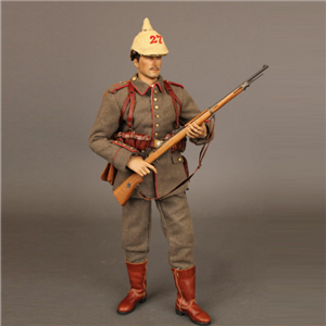 12 'PVC Action Figure World War Ⅱ Armies In Plastic