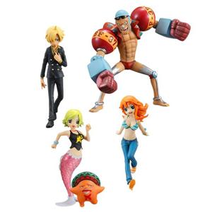 Figura di giocattolo di plastica calda di BANDAI di vendita