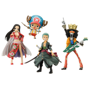 Hot Sale Plastic Cartoon One Piece Figurine