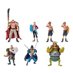Plastic One Piece Toy Figure For Collection