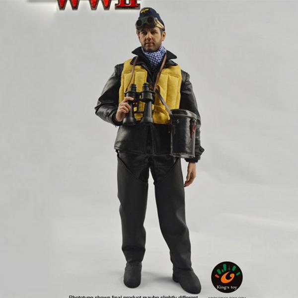 Chiffre de soldat d'action d'armée de PVC de 12 pouces avec l'habillement