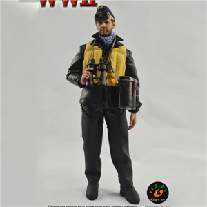 PVC 12 Inch Army Action Solider Figure With Clothing