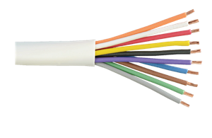 Unshielded stranded copper cable