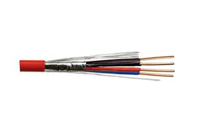 Shielded solid copper cable-FIRE ALARM CABLE