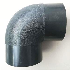 PE Elbow 90 Degree HDPE Pipe Fittings