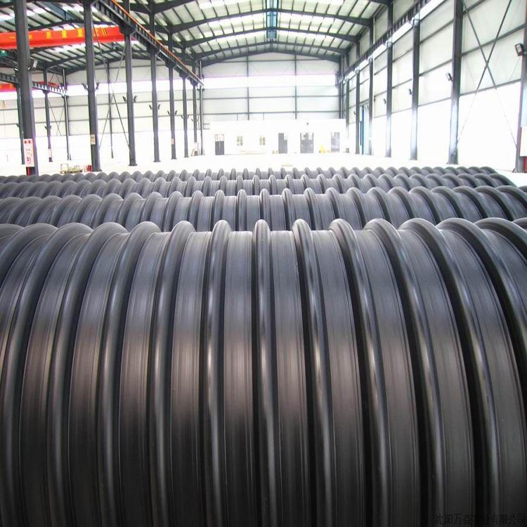 Metal Reinforced Corrugated Sewer Pipe