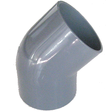 upvc 45 degree elbow