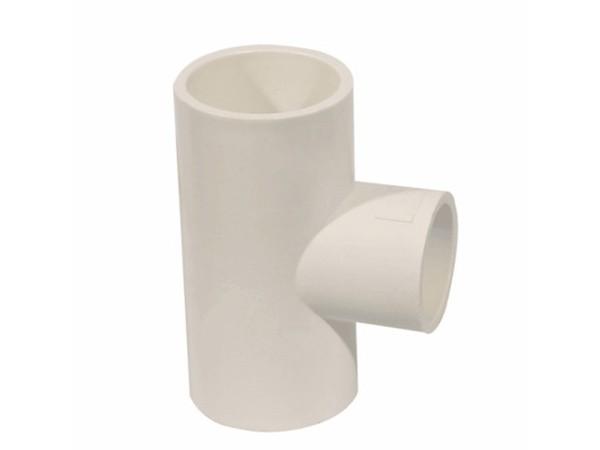 Conexões para tubos de PVC em T UPVC iguais e redutoras