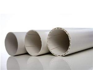 Tubo de UPVC para descarga de água no solo