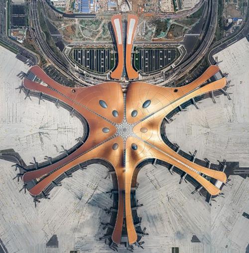 partisipasi pipa Jingtong di proyek bandara Beijing Daxing