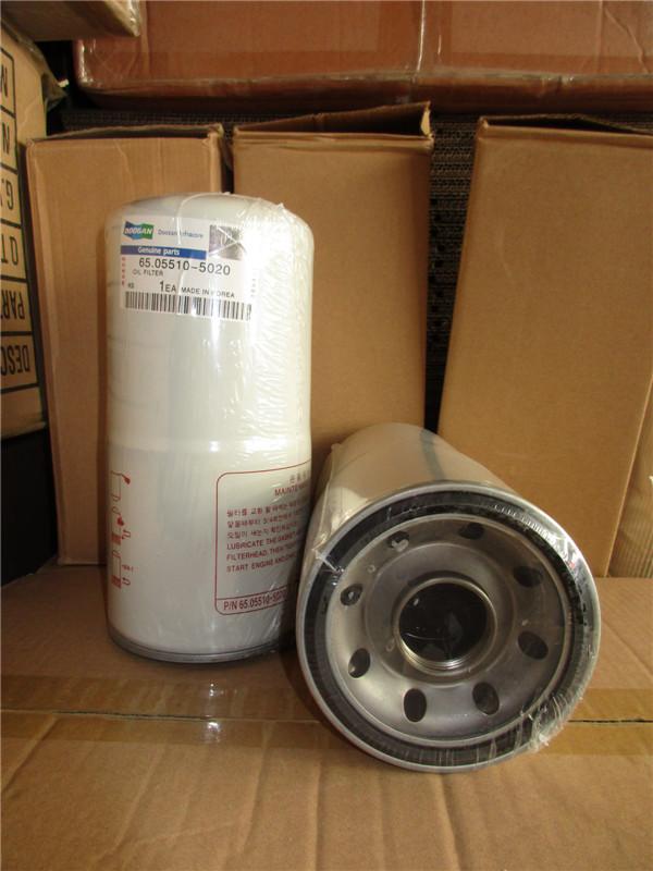 Doosan fuel filters