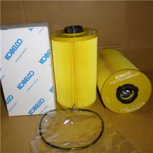 Wirowanie paliwa na filtrach dla Kobelco