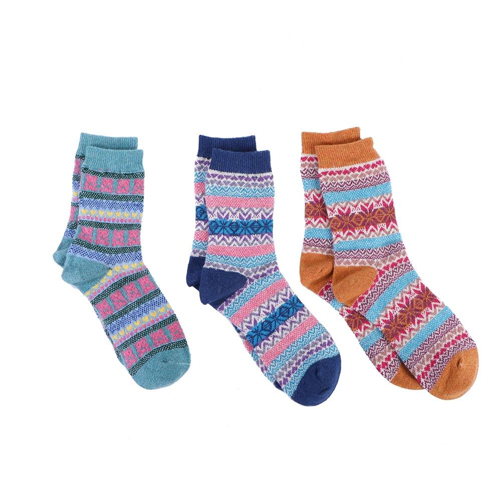 ถุงเท้าขนสัตว์สำหรับผู้หญิง