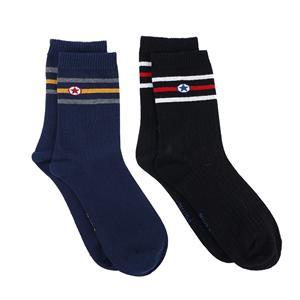 Erkek Çizgili Çorap