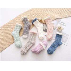 Casual Stylish Versatile Warm Coral Fleece Floor Socks