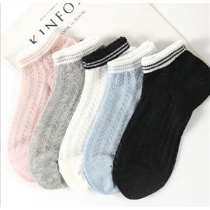 Kişiselleştirilmiş Şık Kristal Jakarlı Kadın Çorapları