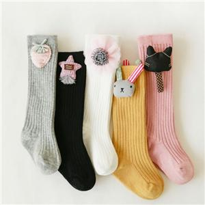 Double Needle Creative Cartoon Doll Baby Cute Stockings
