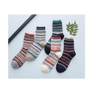 Retro High-end Comfortable Ethnic Men's Warm Socks