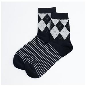 Diamond-shaped British Style Stylish Men's Socks
