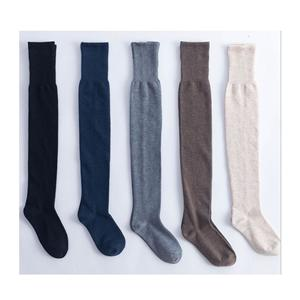 Personalized Straight High Tube College Stylish Ladies Pile Socks