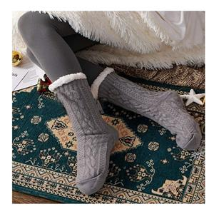 Personalized Stylish Anti-freeze Anti-skid Thick Warm Lazy Socks