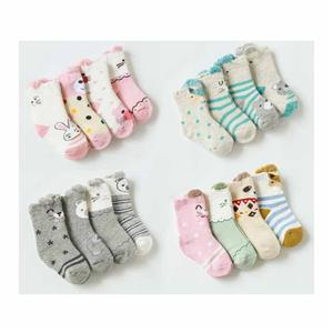 Funky Cartoon Terry Warm Cute Newborn Towel Socks