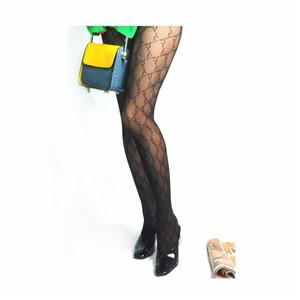 Personalized Funky G letter Fishnet Ladies Pantyhose
