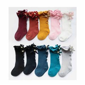 Personalized Stylish Cute Bow wave children stockings