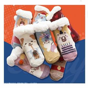 Personalized Velvet Thickening Anti-slip Baby Floor Socks