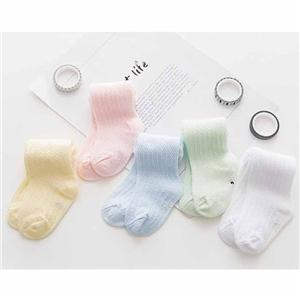 Summer Cotton Mosquito-proof Knee Baby Thin Tube Socks