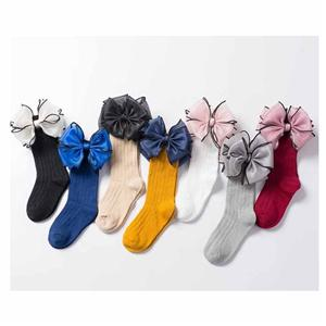 Personalized Stylish Princess Satin Bow Baby Socks