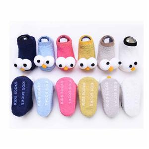 New Funky Cartoon Big Eyes Multicolor Baby Socks