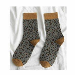 Fashion Leopard Wool Thicken Warm Ladies Sokid