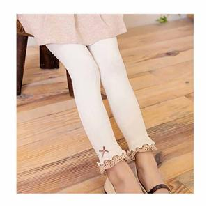 Personalized Stylish Lace Bow Fungus Sweet Girl Pants