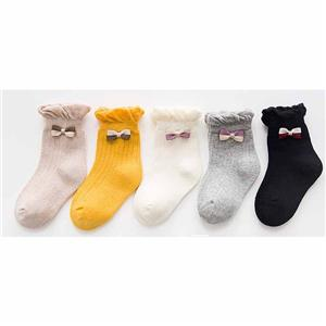 Personalized Stylish Lace Cute Bow Children Socks