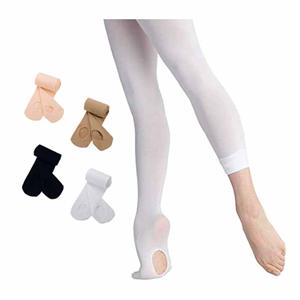 Wholesale Velvet Burrowing Ballet Children Dance Tights